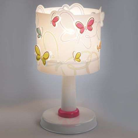 Butterfly - sweet table lamp for children
