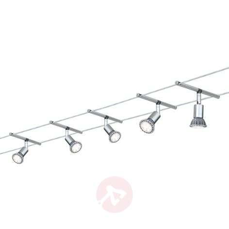 Cable lighting system Spice Salt, set of 5, 10 m