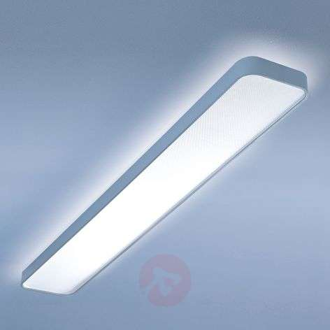 Caleo-X1 long LED ceiling light warm white