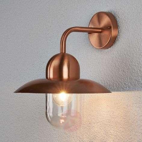 Camila Outside Wall Light Beautiful Copper
