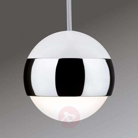 Capsule LED pendant light for U-Rail track system