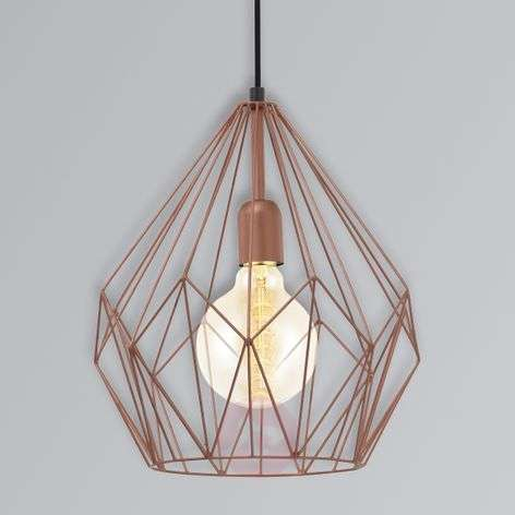 Carlton - a pendant light in the vintage style