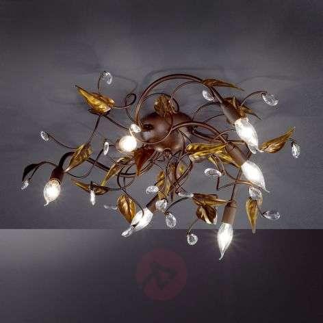 Catania Ceiling Light Filigree Six Bulbs