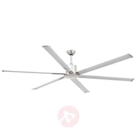 Ceiling fan Andros matt nickel aluminium