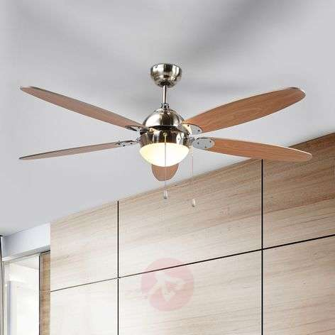 Ceiling fan Levian with light-4018098-317