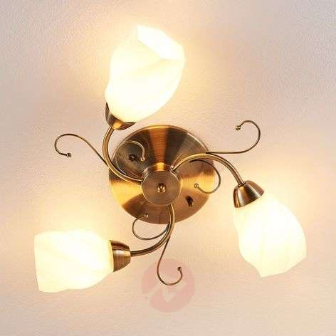 Ceiling lamp Amedea with a romantic design