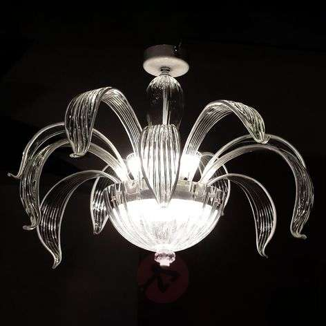 Ceiling lamp Eden in clear glass