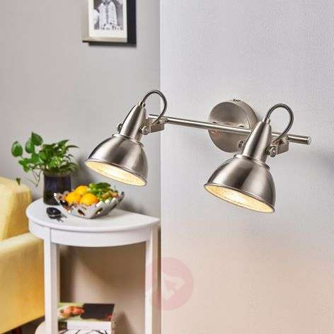 Ceiling lamp Julin with two lampshades