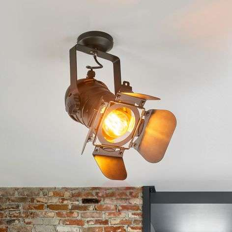 Ceiling lamp Solena in style of stage spotlights