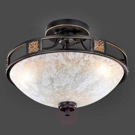 Ceiling light Caecilia with antique design, 42 cm