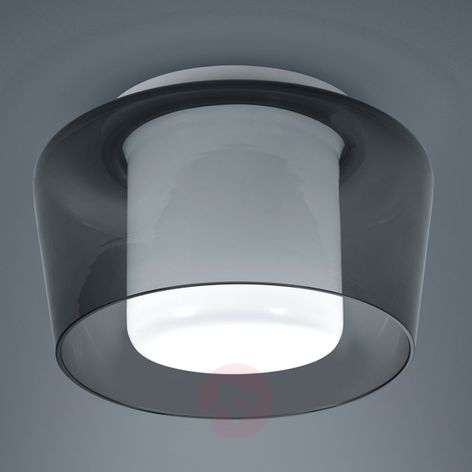 Ceiling light Canio with double glass