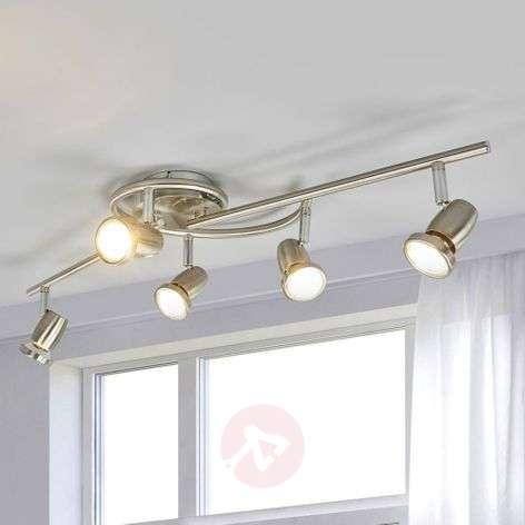 Ceiling light Celestine with 5 LED spotlights