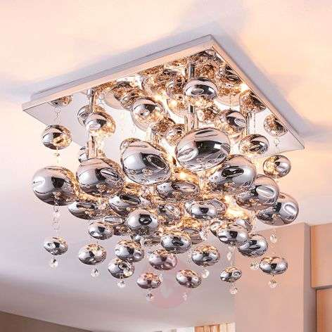 Ceiling light Esfera hung with glass balls-9620909-310