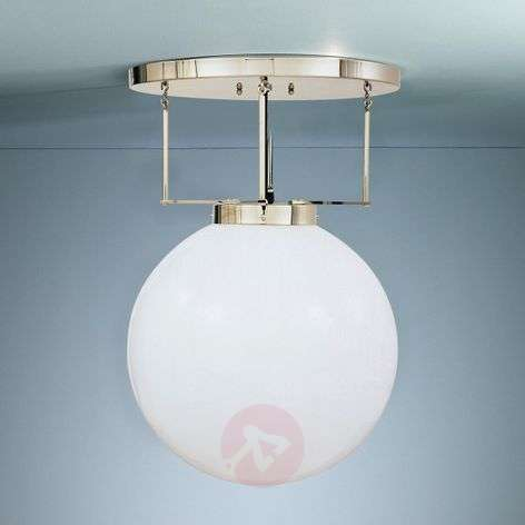Ceiling light made of brass in Bauhaus style-9030117X-31