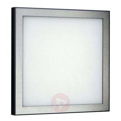 Ceiling light or wall light 411 for outdoor areas