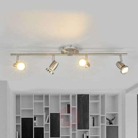 Celestine four-bulb LED ceiling spotlight