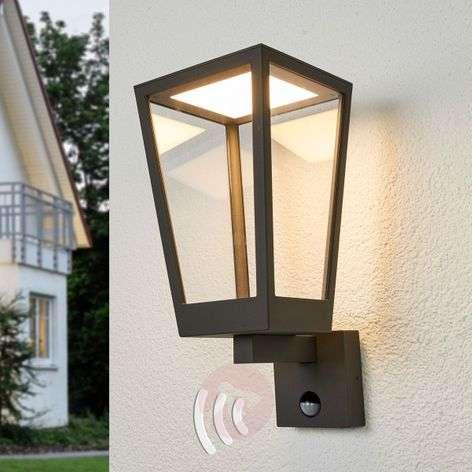 Chaja - motion sensor wall lamp, lantern design