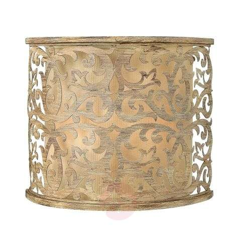 Champagne-coloured wall light Carabel
