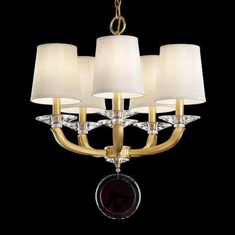 Chandelier Emilea with lampshades