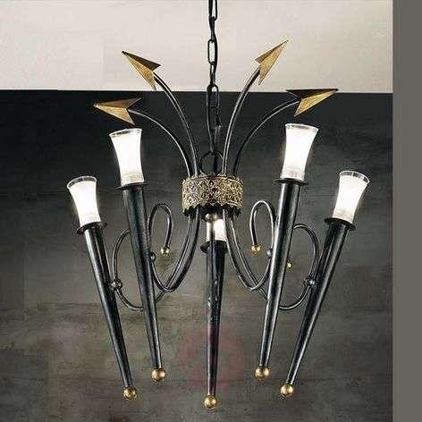 Chandelier IMPERO, five-bulb