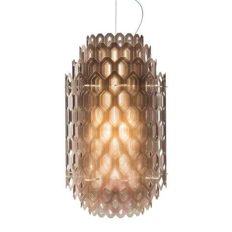Chantal designer hanging light with LED