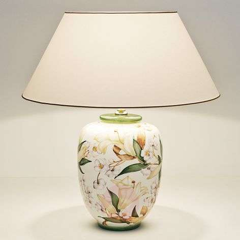 Charming ceramic table lamp Lily