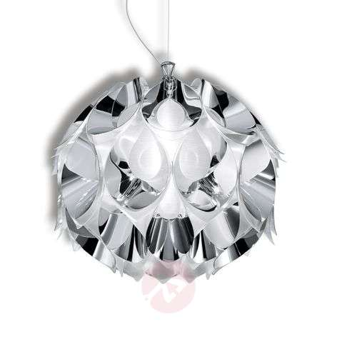 Charming Flora hanging light in silver, 36 cm