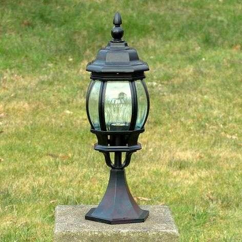 Charming pillar light Istria black
