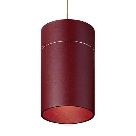 Charming Tudor L hanging lamp 18.5 cm matt red