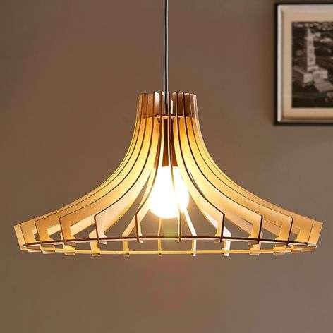 Chic wooden pendant light Bela