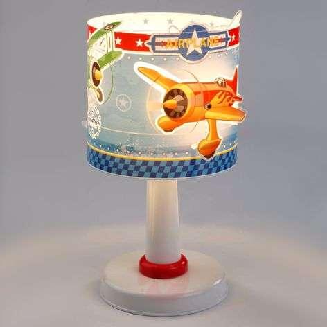 Children's night stand lamp Airplane