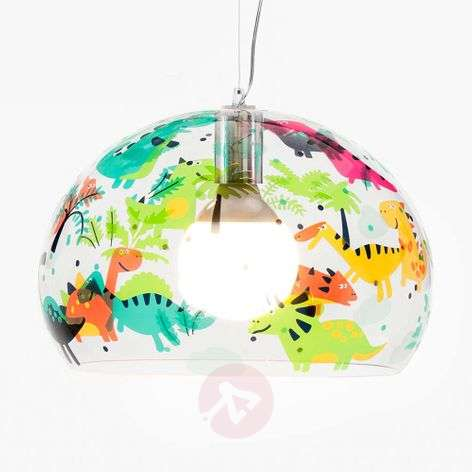 Children's LED hanging light FL/Y Kids, dinosaurs