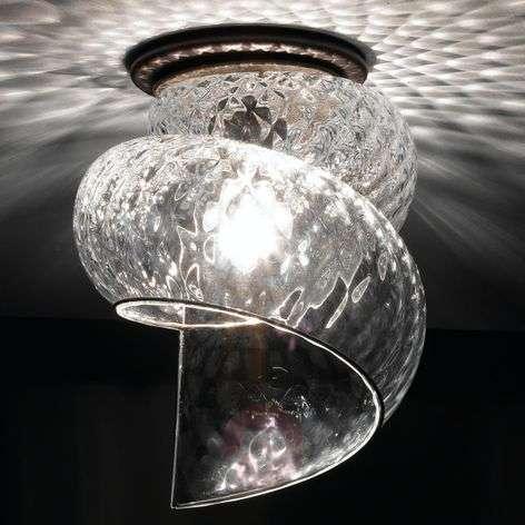 Chiocciola - an effective ceiling lamp