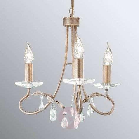 Christina - exclusive chandelier three-bulb