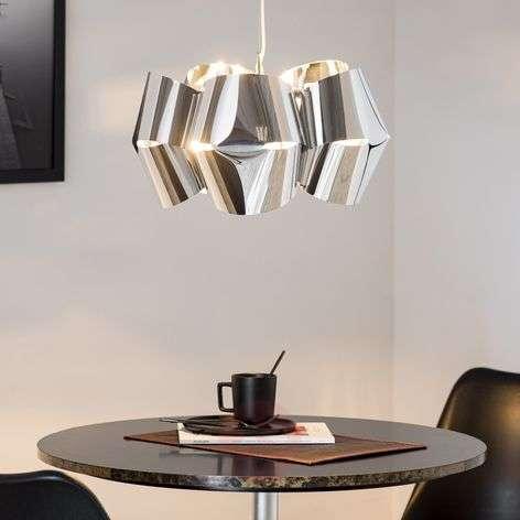 Chrome-plated hanging light Mini Alien