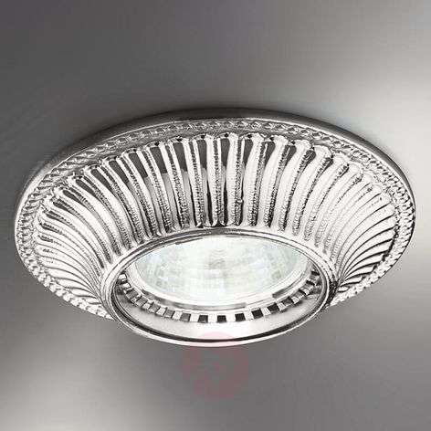 Chrome-plated recessed light Milord