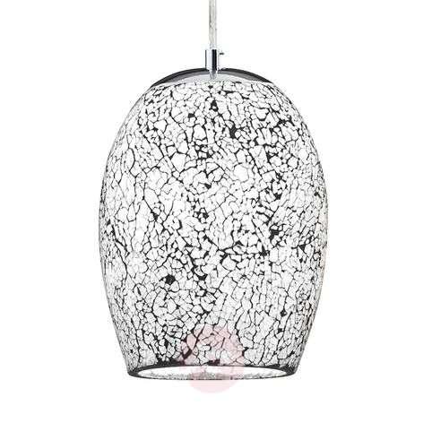 Chrome white hanging light Crackle-8570950-31