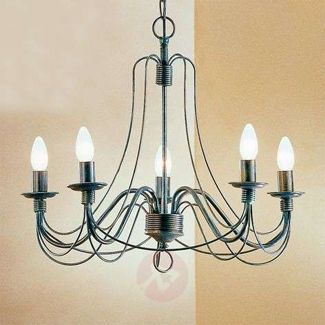 Clara Chandelier Country House Style Five Bulbs