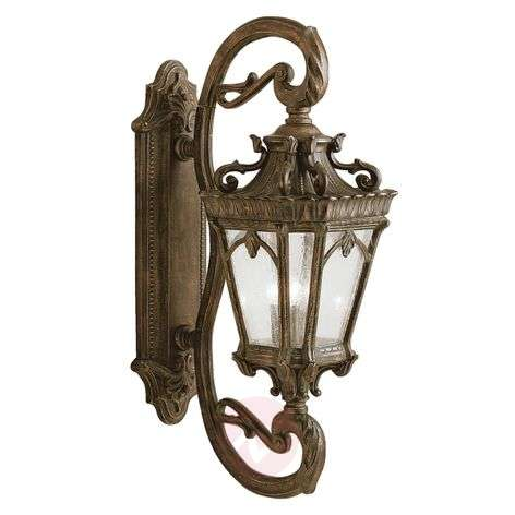 Classic antique-style Tournai outdoor wall light