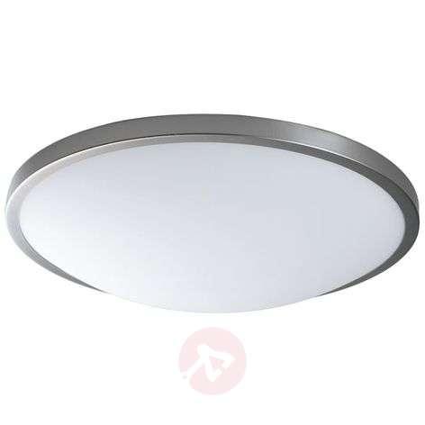 Classic ceiling lamp Santos in matt nickel