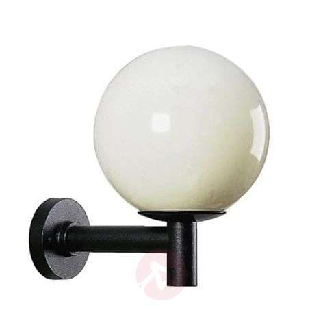 Classic outdoor wall light, diameter 45 cm