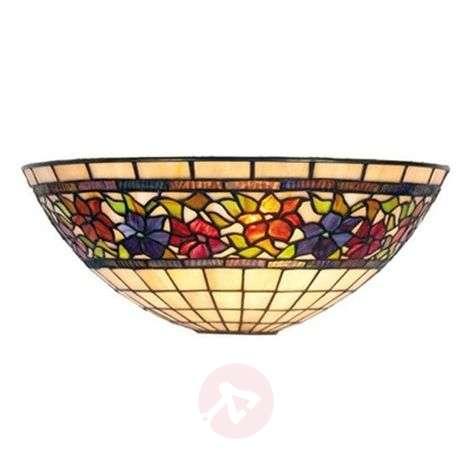 Classic Tiffany-style wall light FLORA