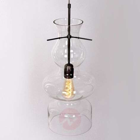 Clear glass pendant light Chalise Day