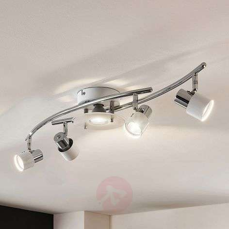 Cleon - white LED ceiling light, dimmable