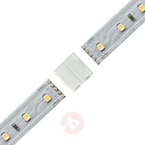 Basic set maxled led strip 150 cm white adj lights clip to clip connector for max led strip audiocablefo