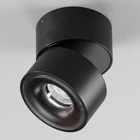 Clippo black, aluminium LED spotlight, dimmable