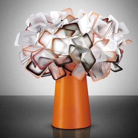 Clizia - designer table lamp in orange