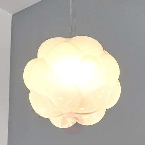 Cloud-shaped LED hanging light Cloudy