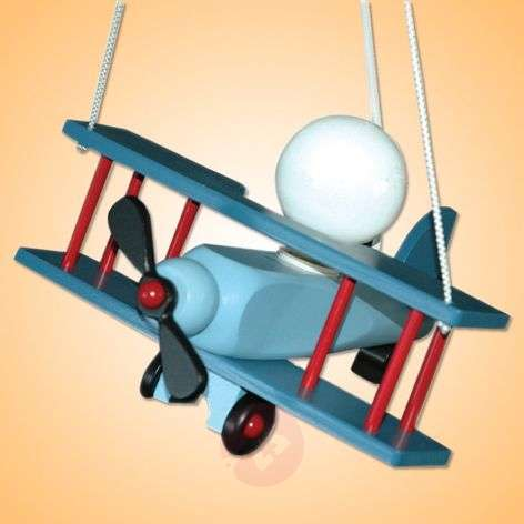 Colourful Aeroplane pendant light