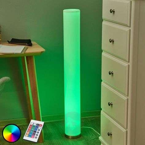 Colourful LED floor lamp Mirella, RGB